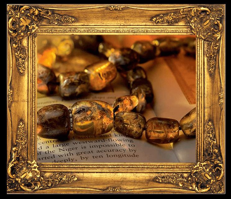 Κομπολόγια από κεχριμπάρι